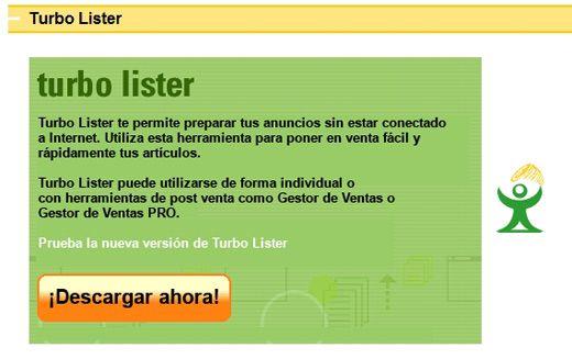 eBay Turbo Lister