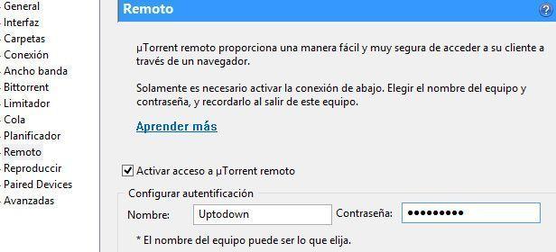 uTorrent Remote 1