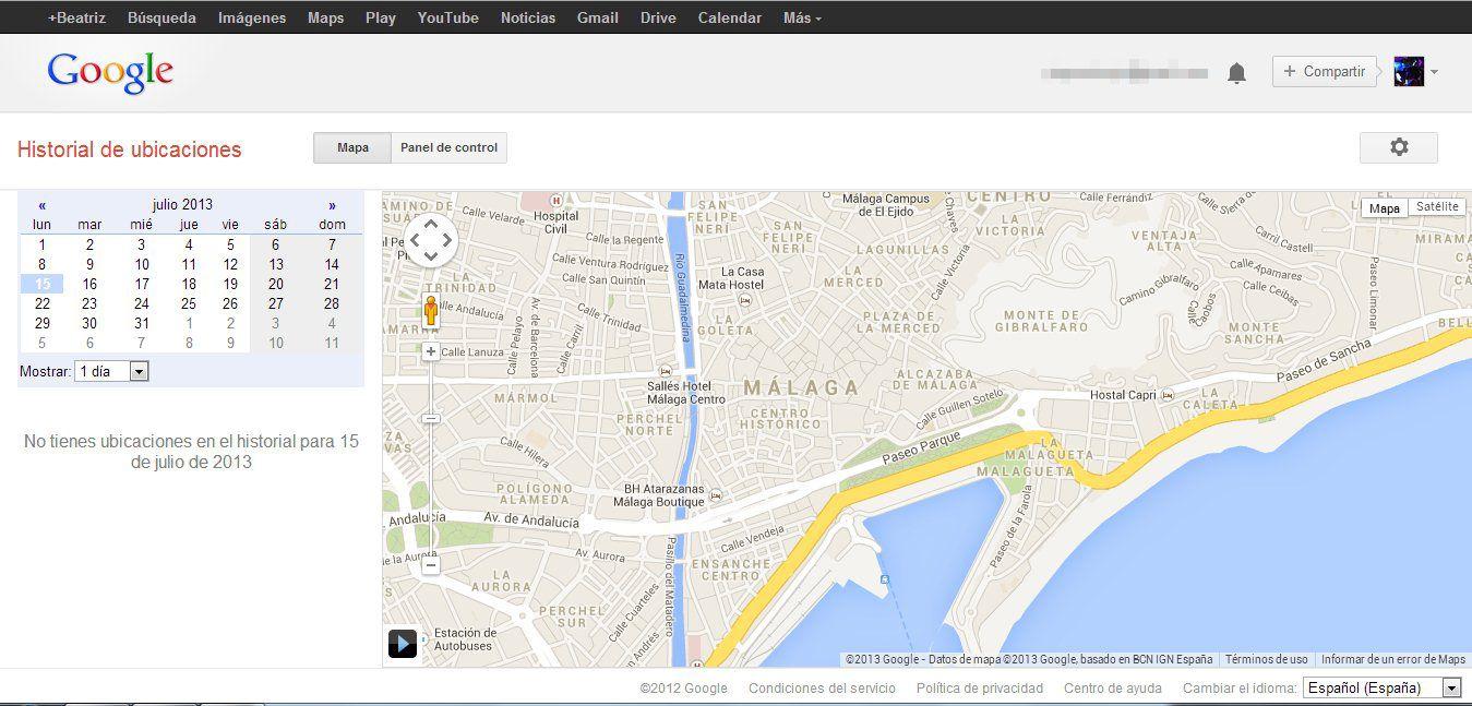 ubicación google maps