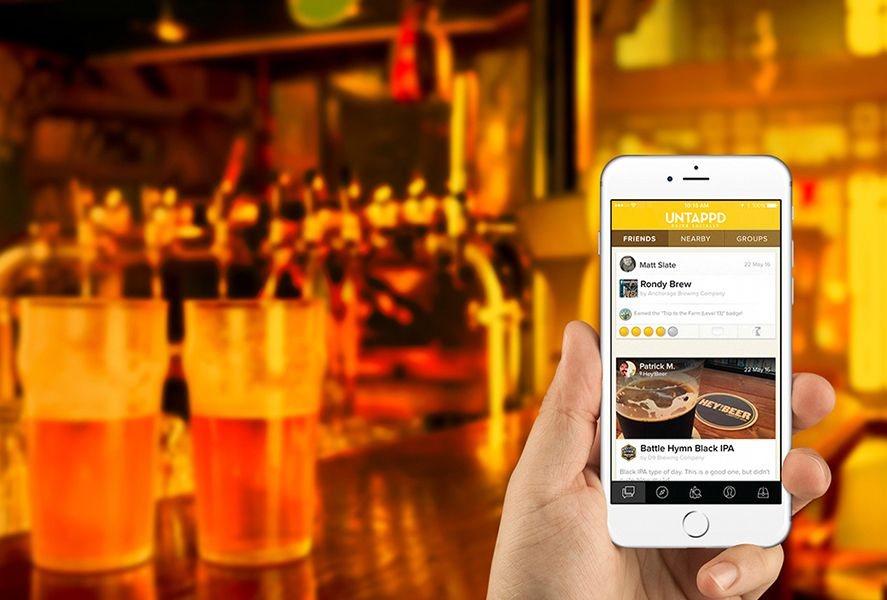 Untappd Android app