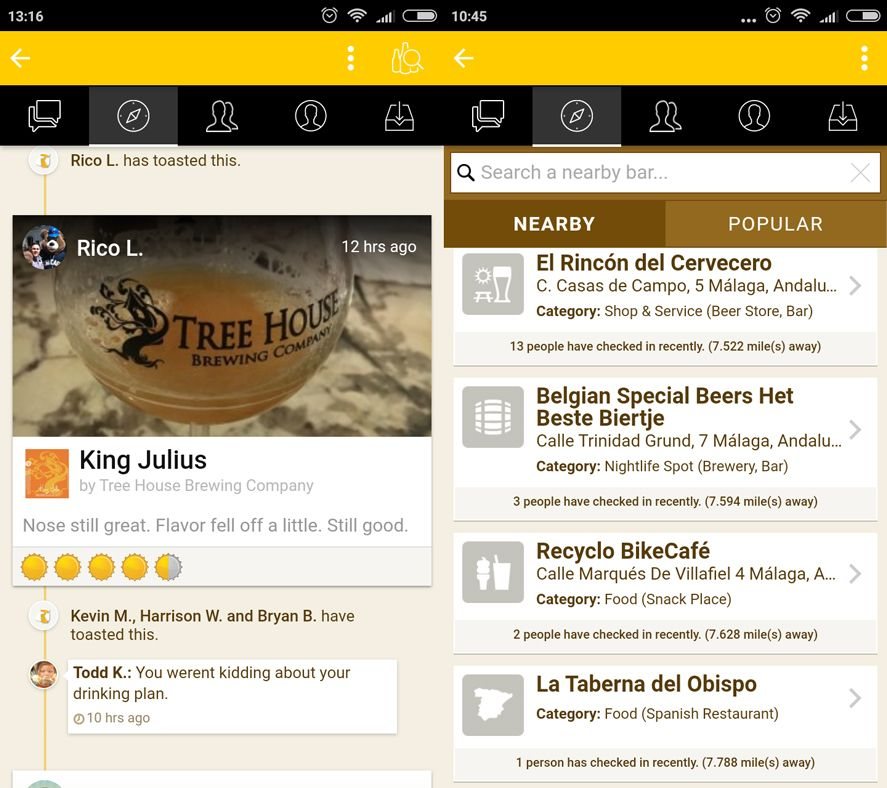 Untappd Android