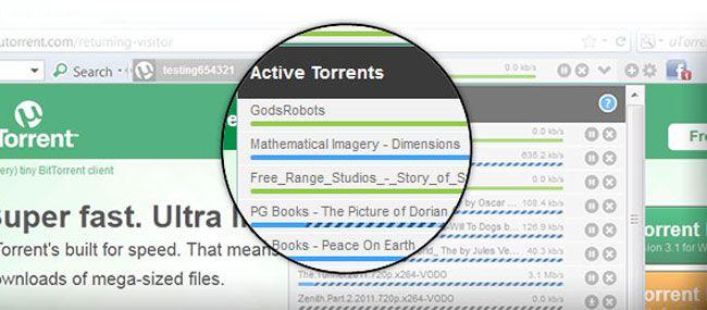utorrent control uTorrent control, para controlar las descargas desde tu navegador