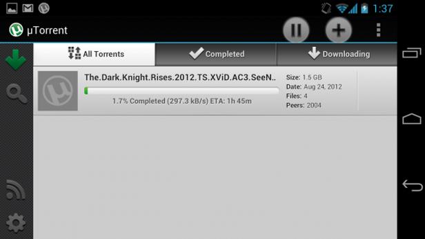 utorrent Los cinco mejores clientes torrent para Android