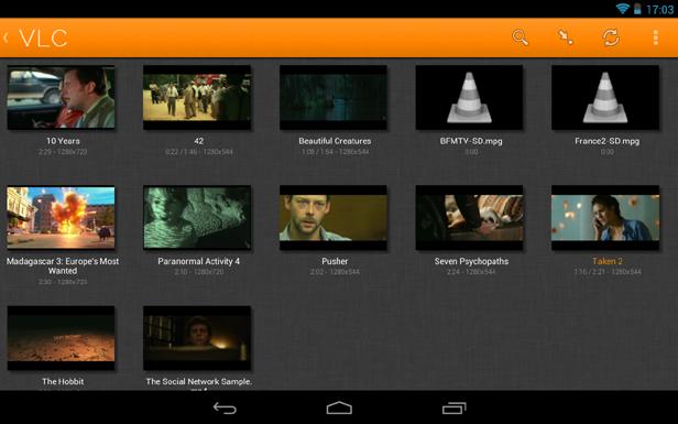 vlc media VLC Media Player para Android, el reproductor multimedia todoterreno