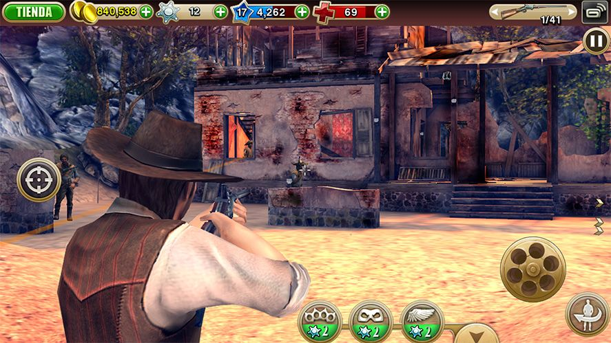Six Guns Android screenshots