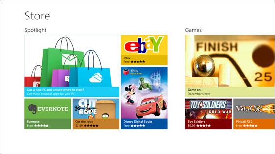 windows 8 store 1 Microsoft anuncia los detalles de la tienda de Windows 8