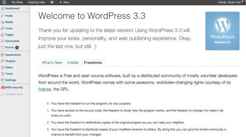 "wordpress 33 WordPress 3.3 ""Sonny"" ya está disponible"