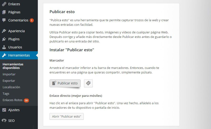 wordpress-publicar-esto