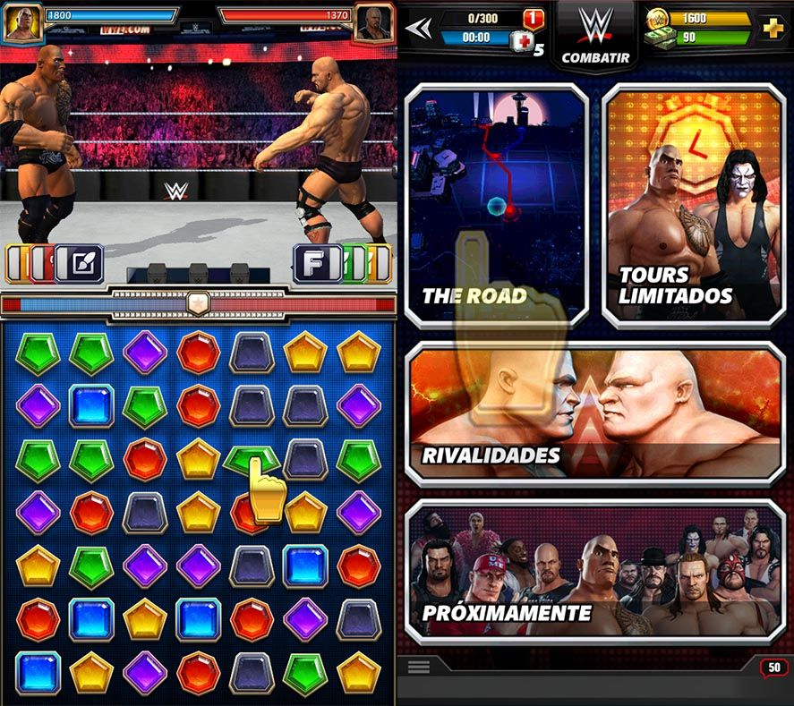 WWE Champions screenshot Android