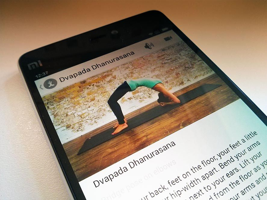 Yoga apps Android