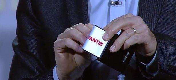 youm cabecera Samsung unveils its first flexible smartphone prototype