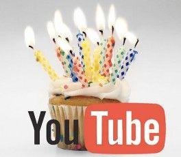 youtube 7 El portal de vídeos online YouTube cumple 7 años