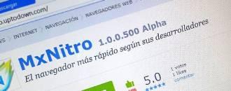 MxNitro, el nuevo navegador centrado en ofrecer velocidad header