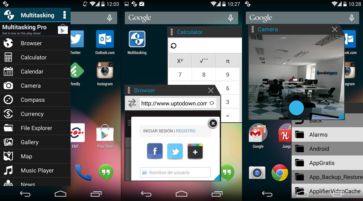 run apps in windows from your android the multitasking app multitask screenshot en