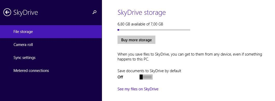 how to make a folder access a cloud storage