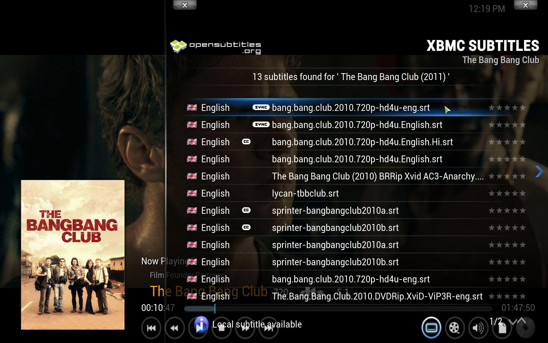 Add On Xbmc Subtitles