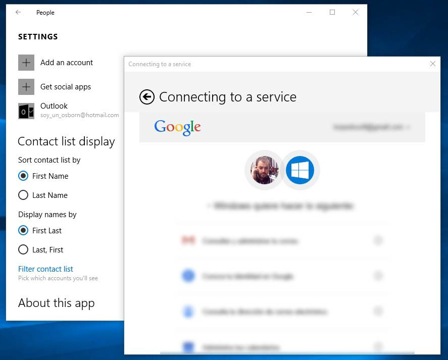 How To Use Your Google Contacts List On Windows 10