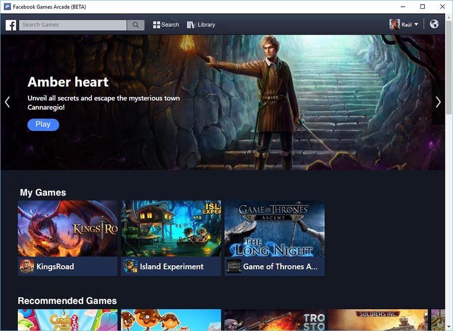 Facebook Games Arcade Deutsch
