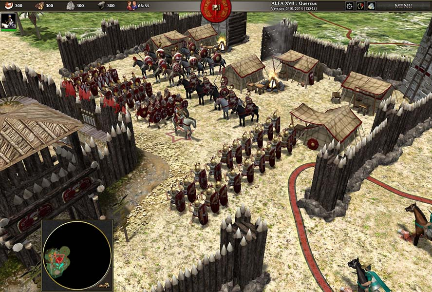 0 A D , the (free) spiritual successor to the Age of Empires saga