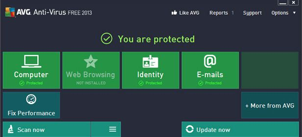 AVG mejor antivirus