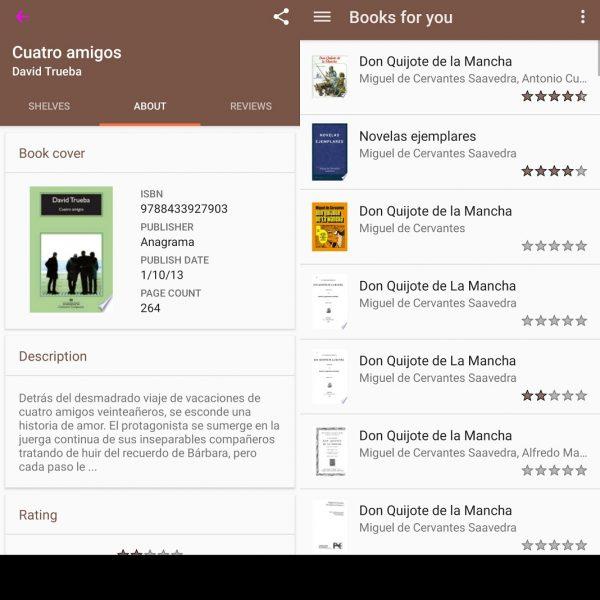 Aplicaciones para organizar libros - My Library