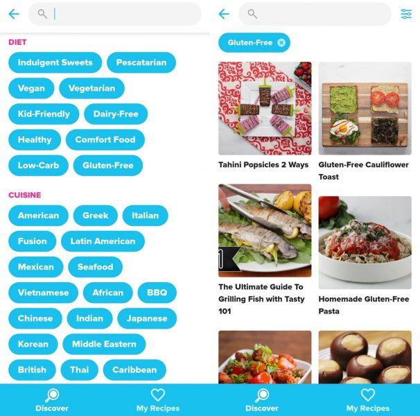 Apps celiacos - Tasty