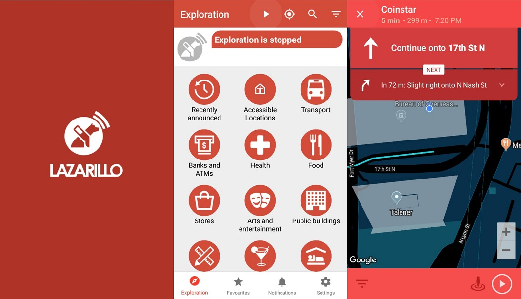 Apps de accesibilidad - Lazarillo