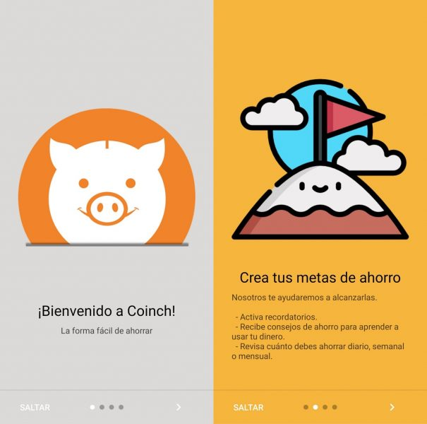 Apps para ahorrar - Coinch