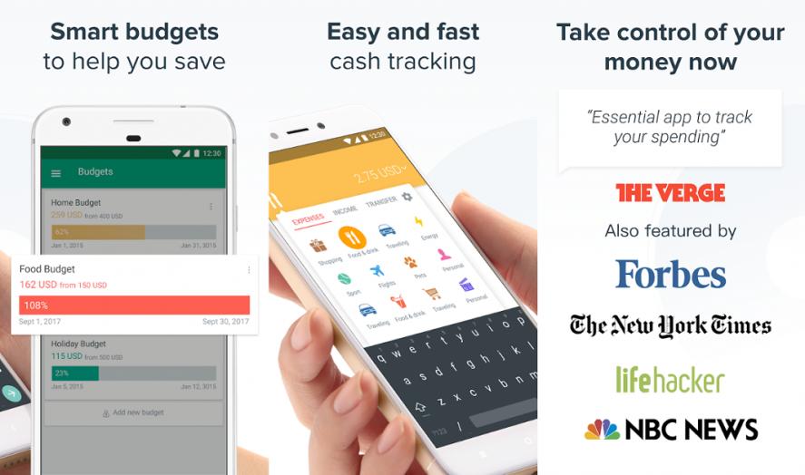 Apps para ahorrar - Spendee