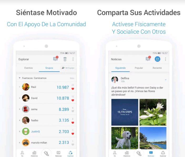 Apps para contar pasos