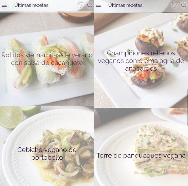 Apps para veganos - Veganecum