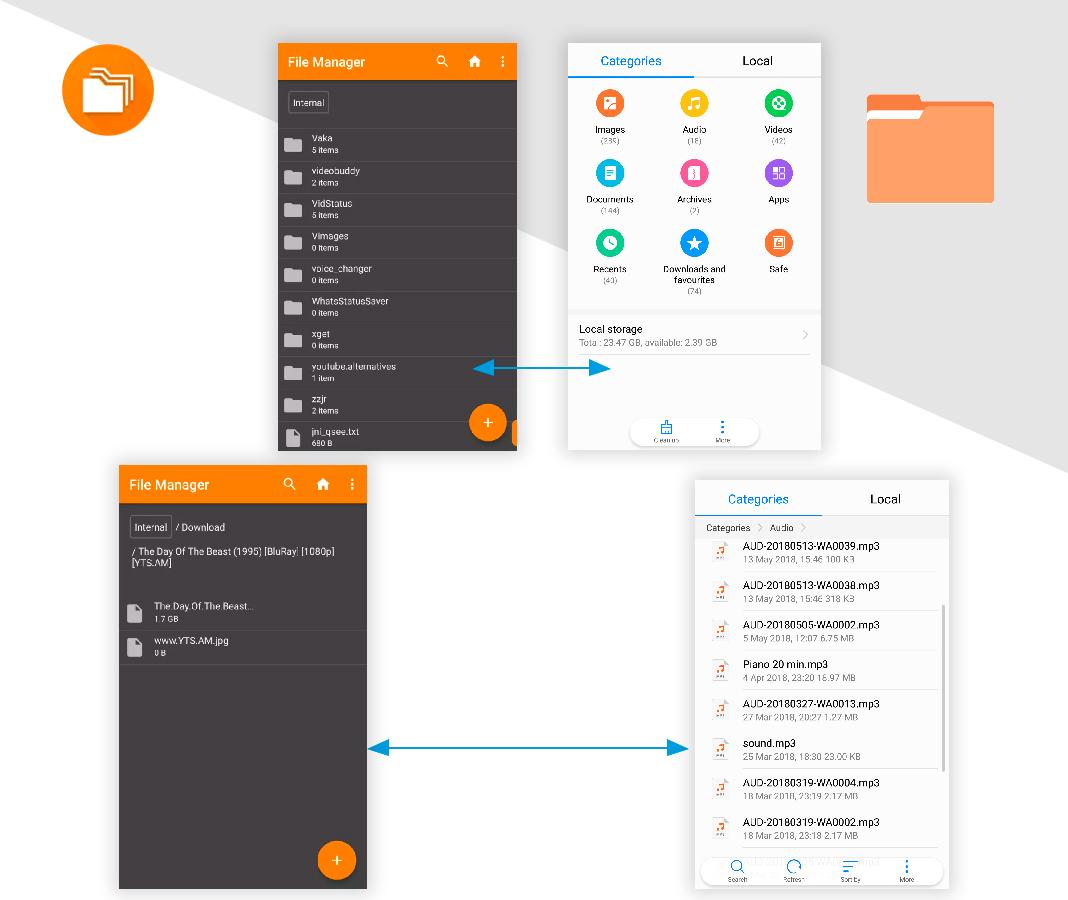 Archivos Simplifica tu móvil Android con estas apps 'open source'