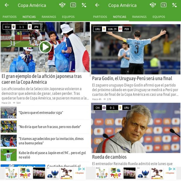 BeSoccer - Noticias Copa América 2019