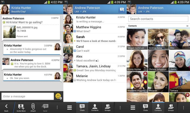 Blackberry Messenger now available for iOS and Android
