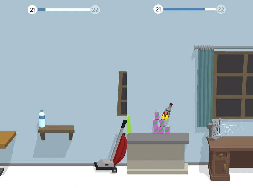 Mejores juegos casual - Bottle Flip 3D