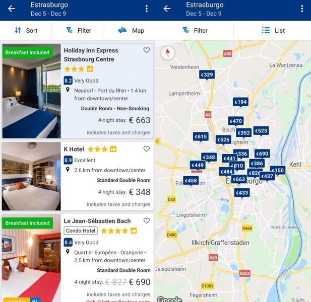 Las mejores apps de viaje - Booking
