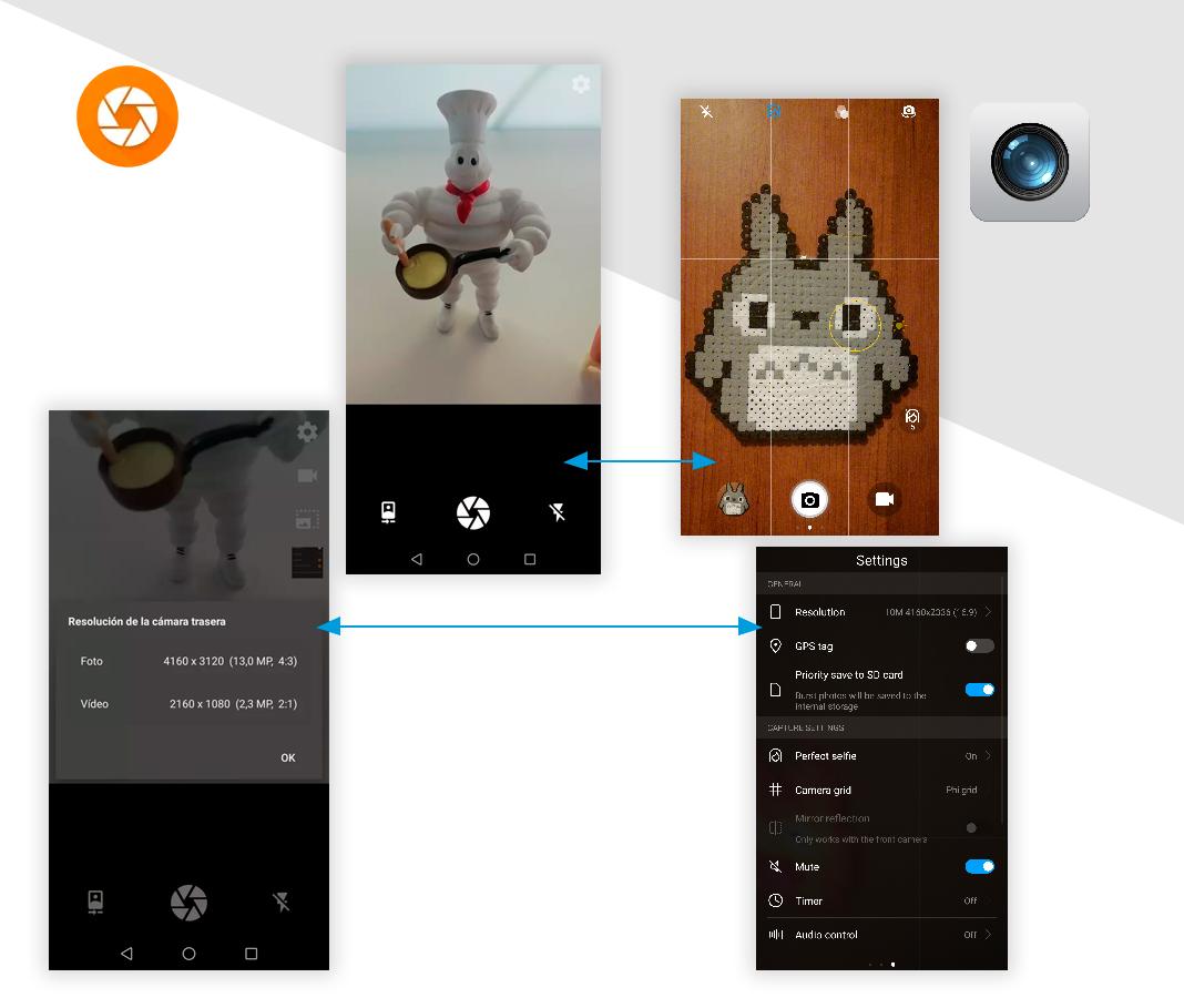 Cámara Simplifica tu móvil Android con estas apps 'open source'