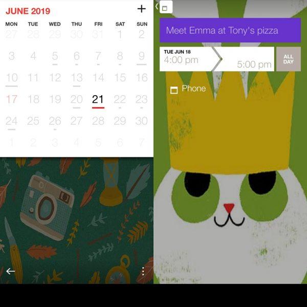 Calendarios Android - Cal Calendar