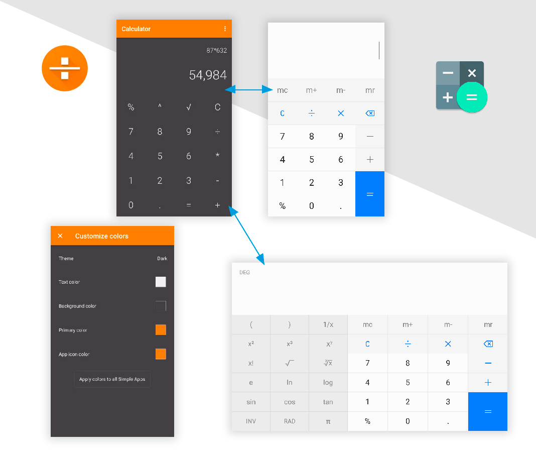 Calculadora Simplifica tu móvil Android con estas apps 'open source'