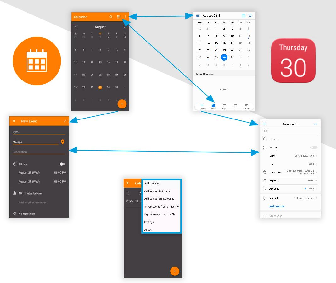 Calendario Simplifica tu móvil Android con estas apps 'open source'