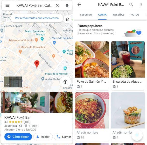 Carta Google Maps