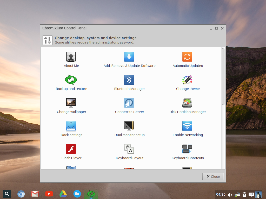 Chromixium, a Linux distro with the ChromeOS touch