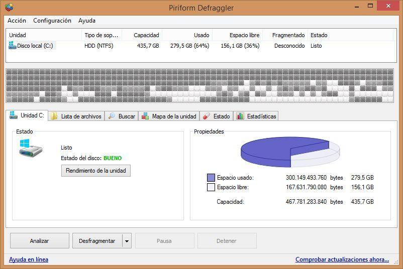 Defraggler-screenshot