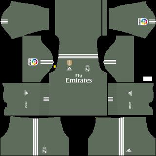 Kit barcelona 2018 dream league soccer portero local