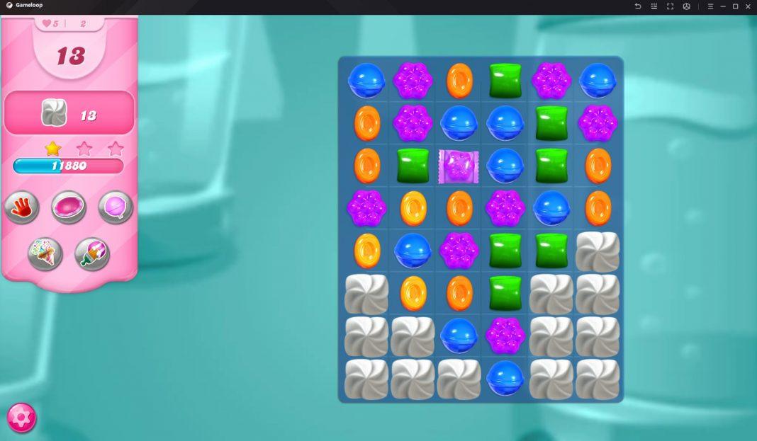 Candy Crush en GameLoop