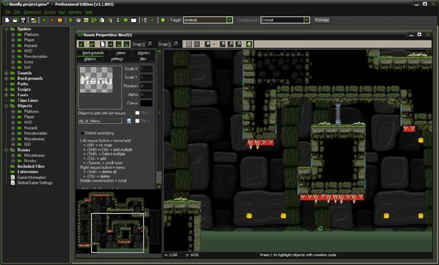 Game Maker Studio screenshot 1