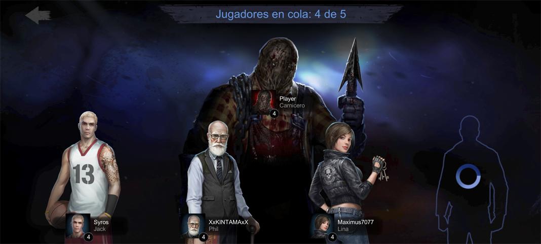 Horrorfield personajes