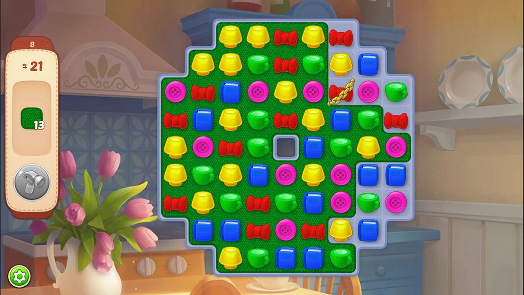 Homescapes screenshot 1 Homescapes, el nuevo y exitoso juego de puzles para Android