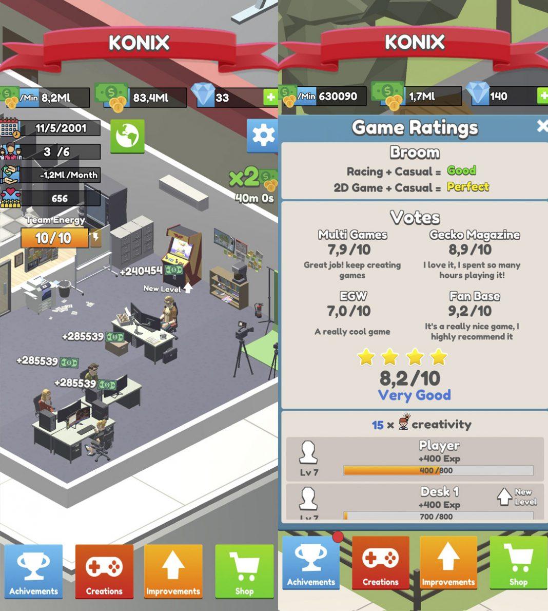 IDLE GAME DEV EMPIRE 02 e1630650857783 Análisis de Idle Game Dev Empire: creando industria… del videojuego