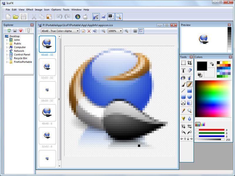 IcoFX-screenshot
